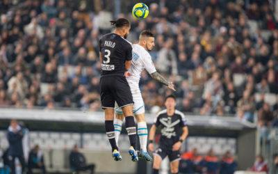 Bordeaux reste invaincu à Bordeaux contre Marseille.