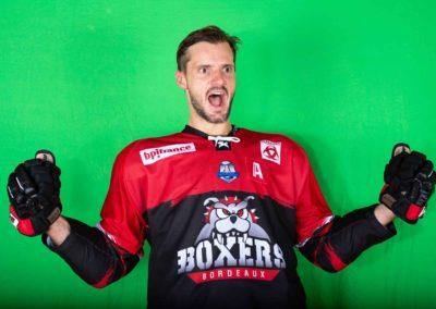 Hockey sur glace Boxers de Bordeaux Jonathan Janil