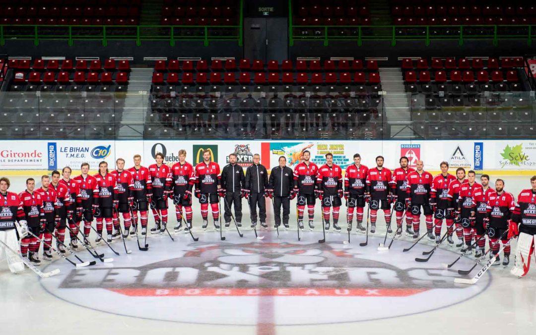 Hockey sur glace Boxers de Bordeaux Photo officielle d'équipe