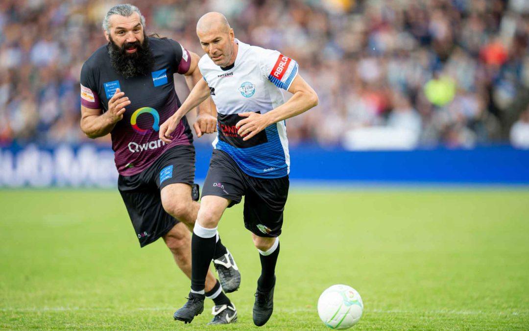 Le choc des légendes Zidane-Chabal
