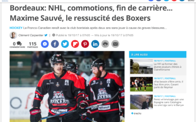 20 minutes Bordeaux: NHL, commotions…