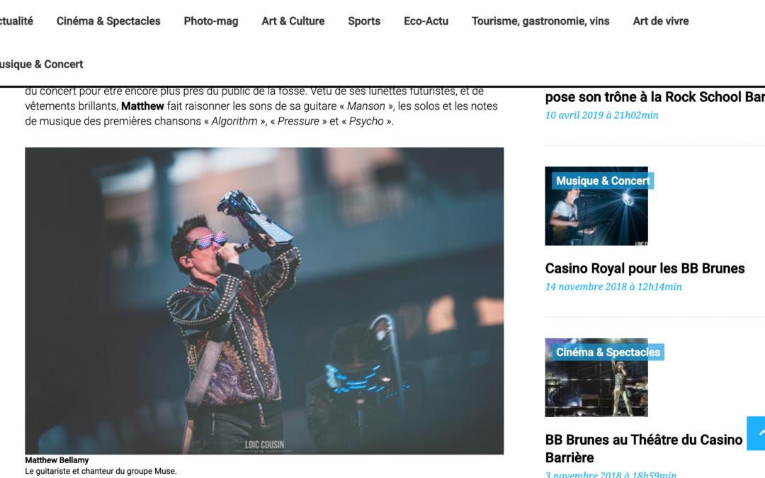 Bordeaux Gazette: Muse au Matmut Atlantique, un show…