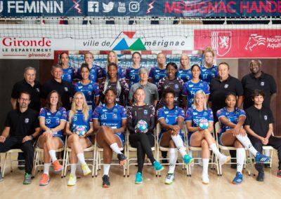 Handball MHB Photo officielle d'équipe